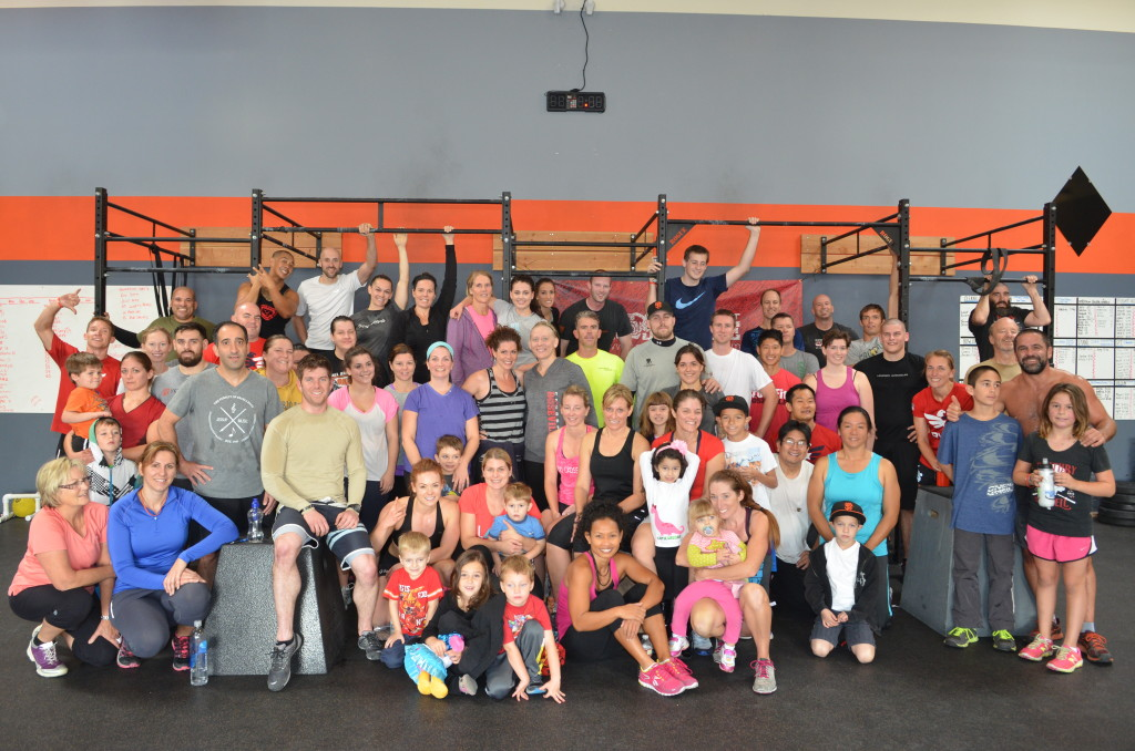 Roseville Crossfit Veterans Day 2013