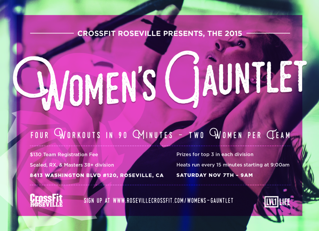 Womens Gauntlet 2015 Flyer_flyer