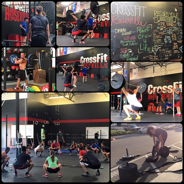 CrossFit Roseville July 19th, PR Day!