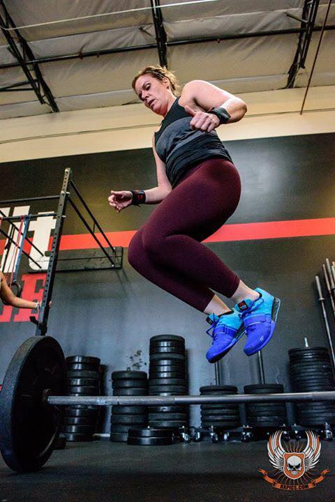 Molly with Hops! Crushing 16.5 at CrossFit Roseville