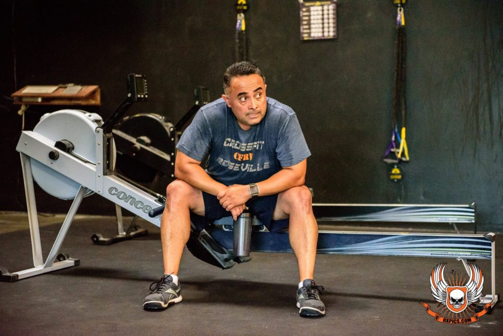 Miguel Lopez at CrossFit Roseville