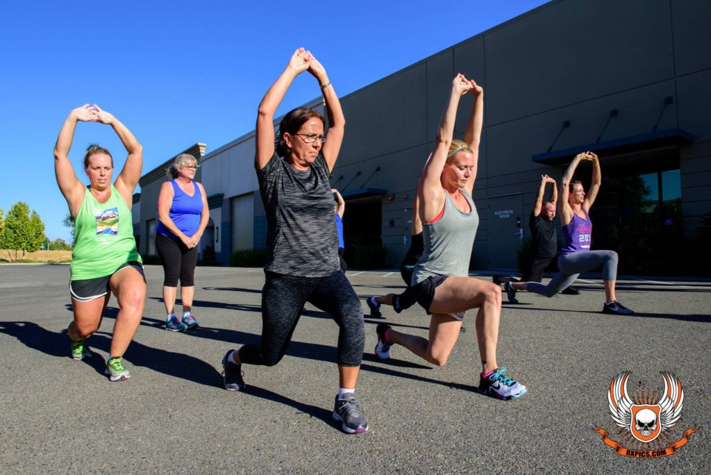 Carolina Prout at CrossFit Roseville