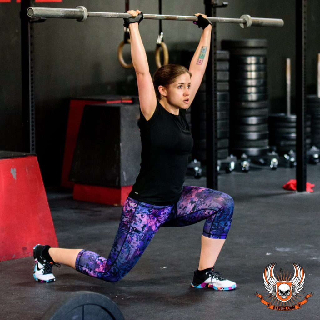 Shayna at CrossFit Roseville