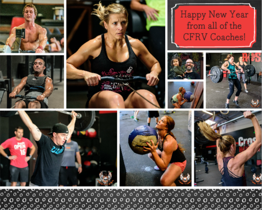 Happy New Year 2017 from all the CrossFit Roseville Coaches