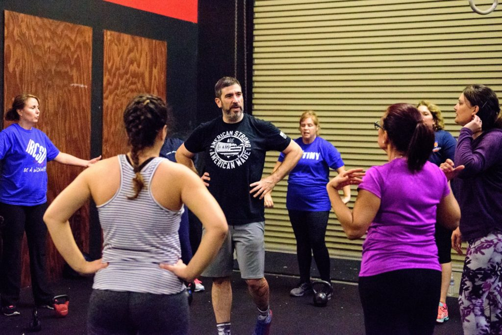 Coach Joey at CrossFit Roseville