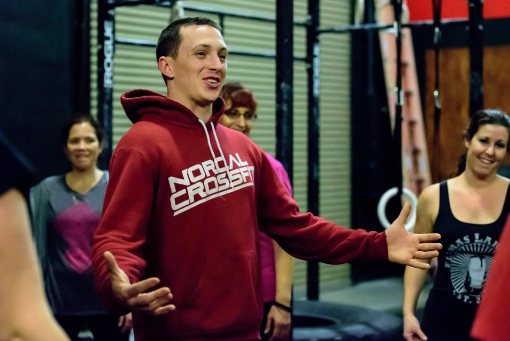 Coach Gary Dimitt at CrossFit Roseville