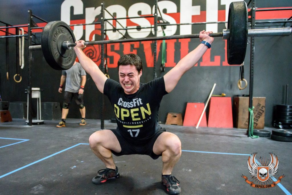 Leslie Ball at CrossFit Roseville