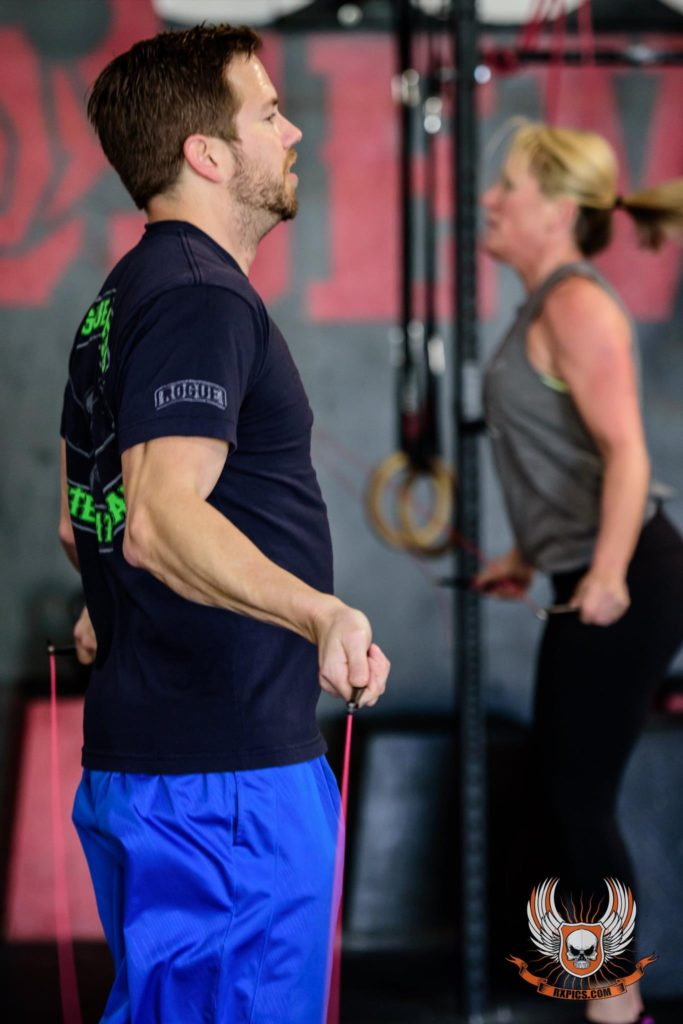 Justin & Tracey at CrossFit Roseville