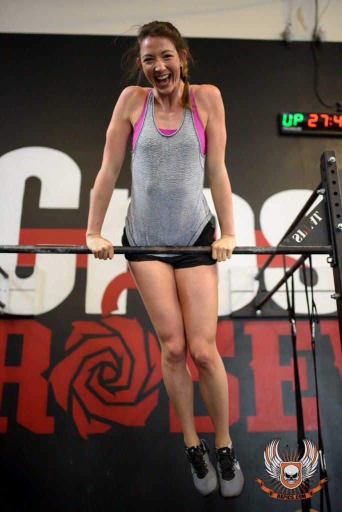Katie Simon at CrossFit Roseville