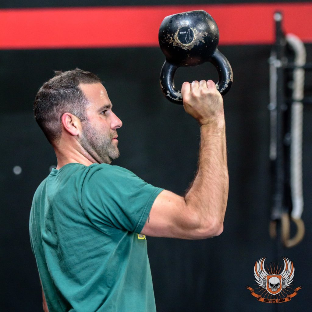 Jordan Tawlks at CrossFit Roseville