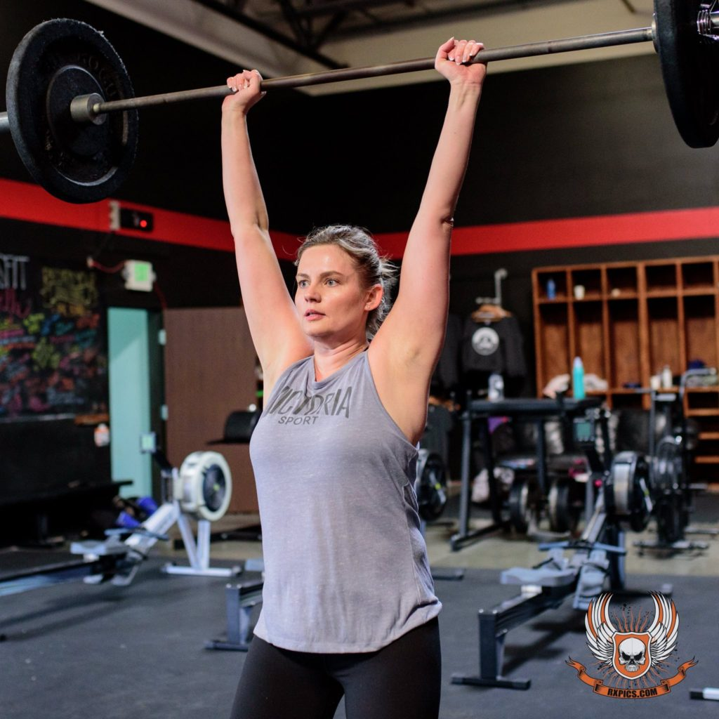 Sanita Pinedo at CrossFit Roseville