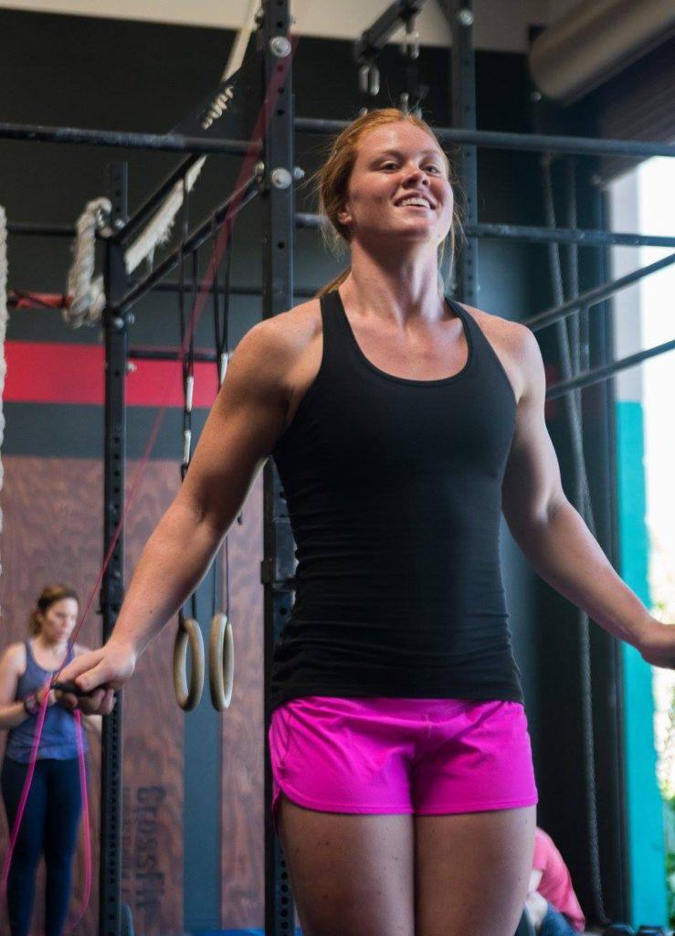 Lauren Coonce at CrossFit Roseville