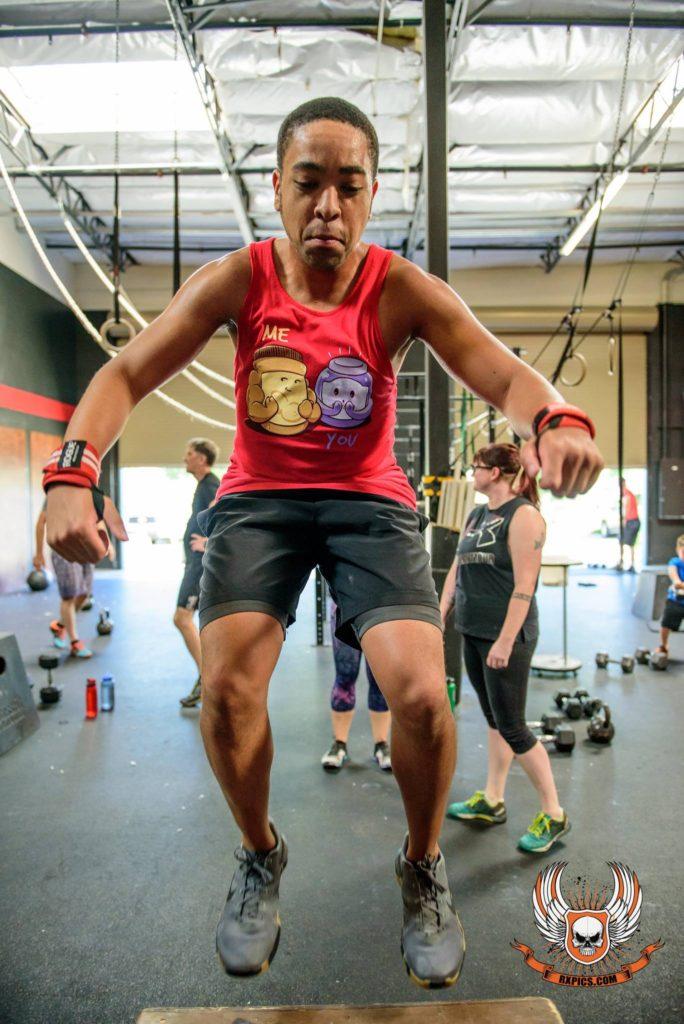 Garnet Ukkerd Jr. at CrossFit Roseville