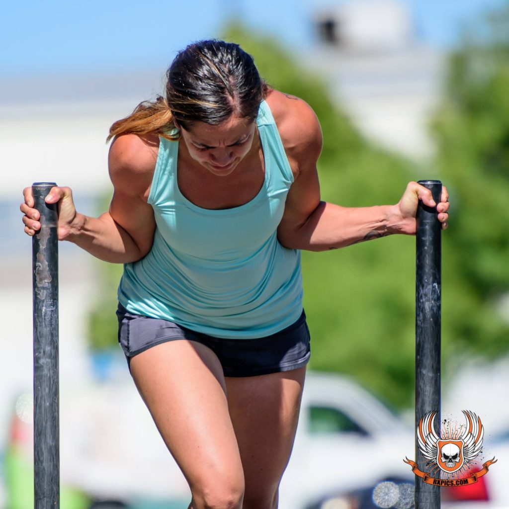 Jess Smith at CrossFit Roseville