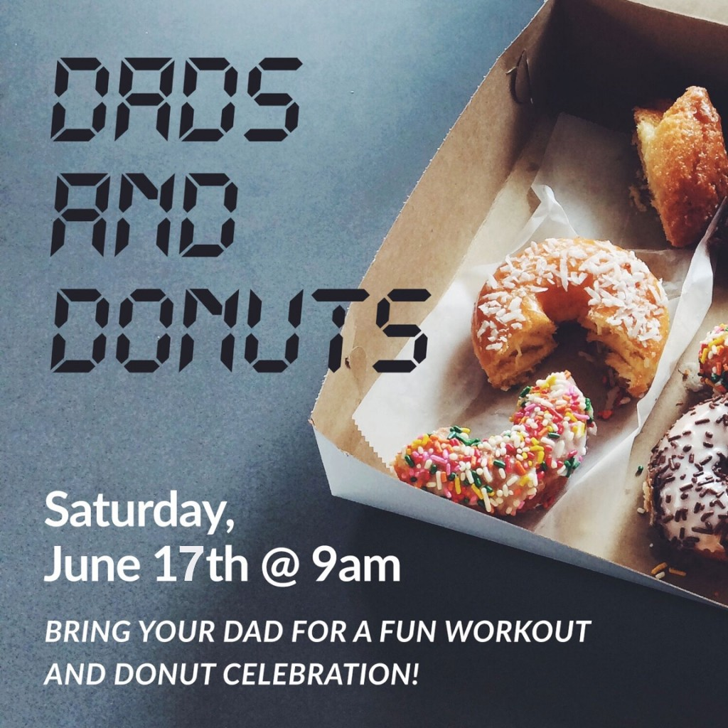 Dad & Donuts at CrossFit Roseville Father's Day 2017
