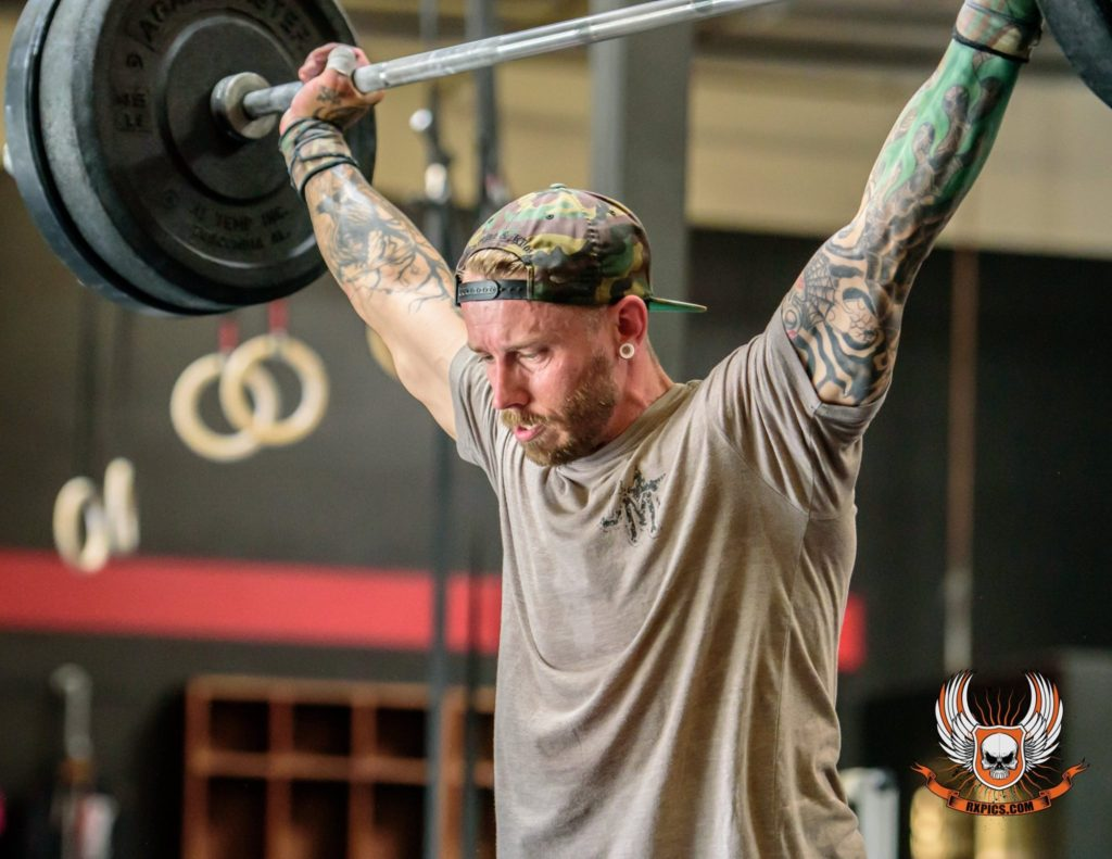 Jimmy Phillips at CrossFit Roseville