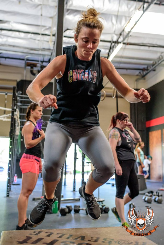 Box Jumps at CrossFit Roseville