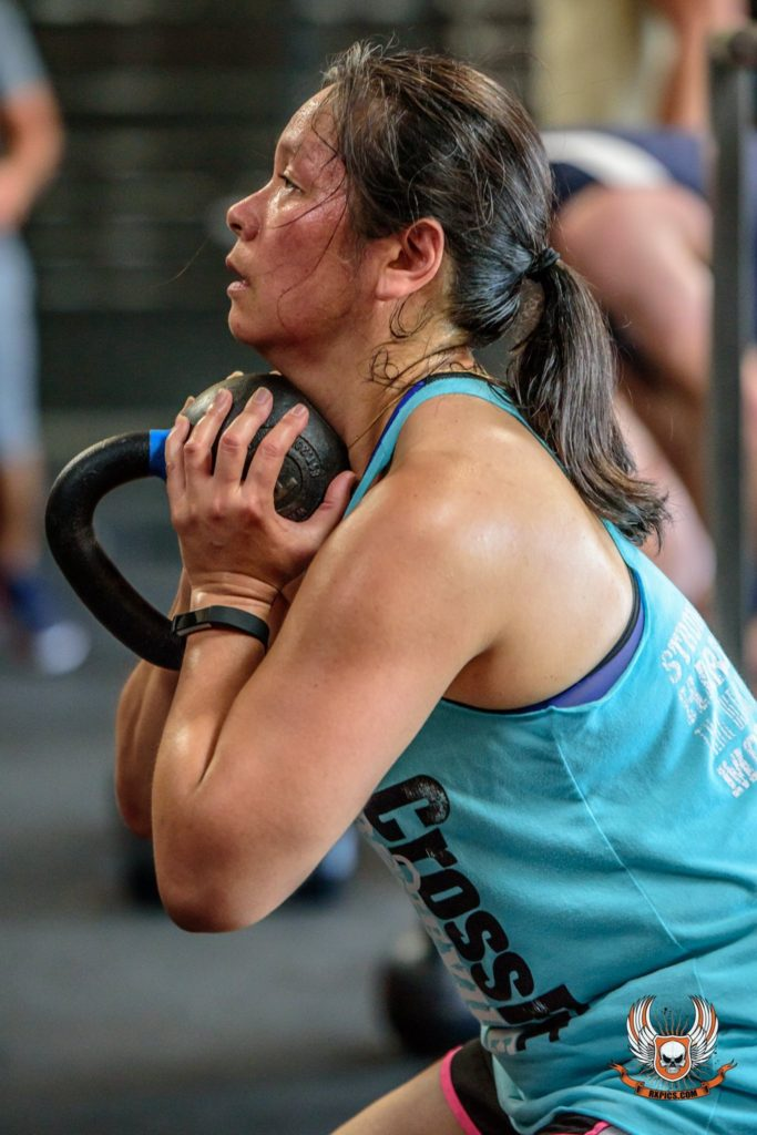 Lois Nakamoto at CrossFit Roseville