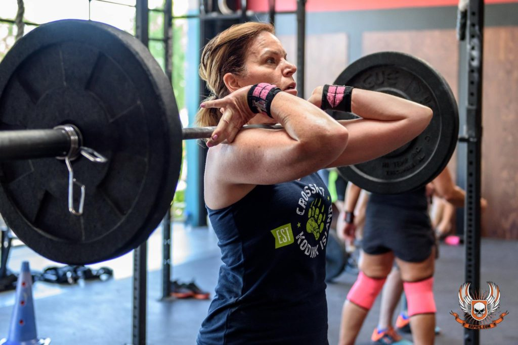 Mollie Lovelace-Ronco at CrossFit Roseville