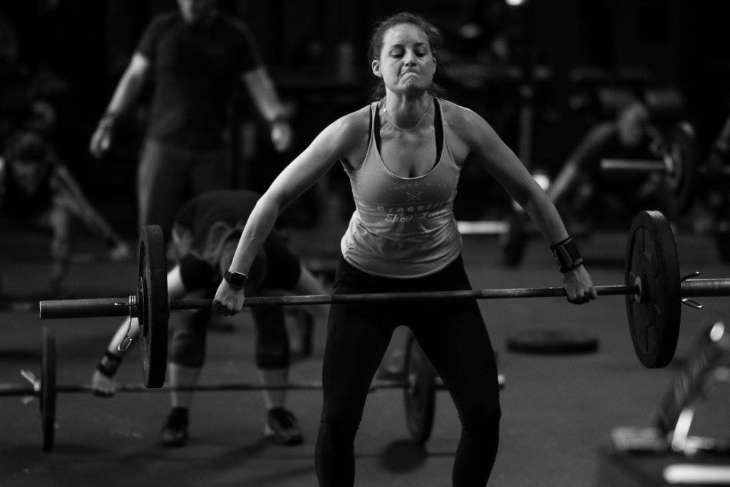 Rheina K. Dashty at CrossFit Roseville