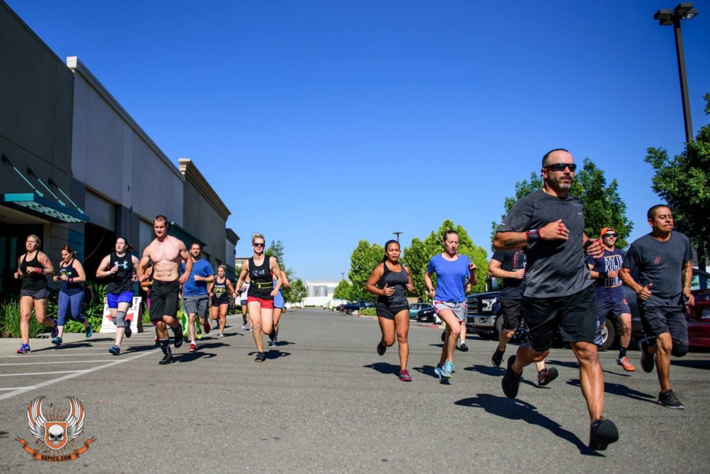 Saturday CrossFit at CrossFit Roseville