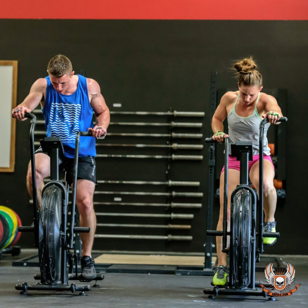 Alexis and Kelton at CrossFit Roseville