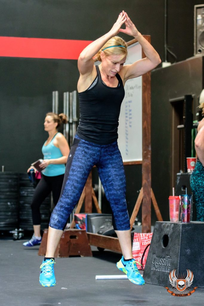 Janet Freeman at CrossFit Roseville