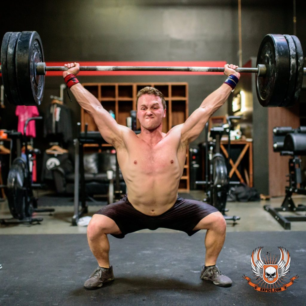 Josh Kyser at CrossFit Roseville