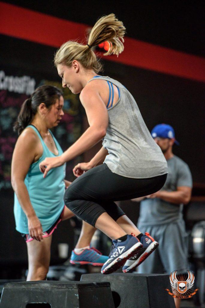 Lauren Horst at CrossFit Roseville