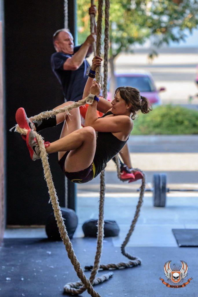 Reina K. Dashty at CrossFit Roseville
