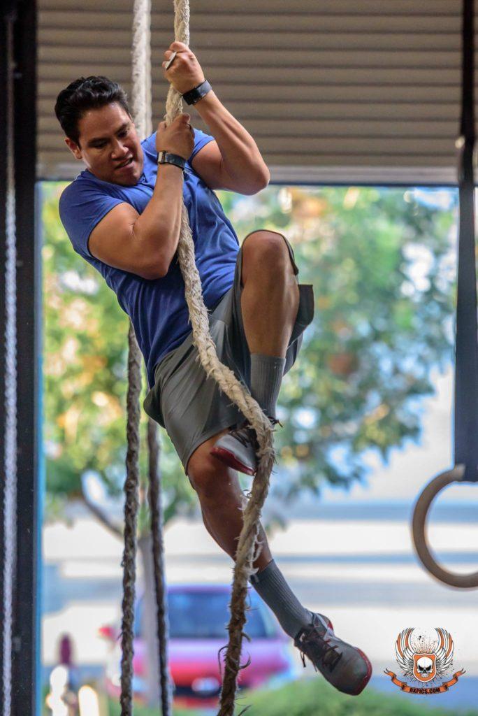 Steven Pinedo at CrossFit Roseville