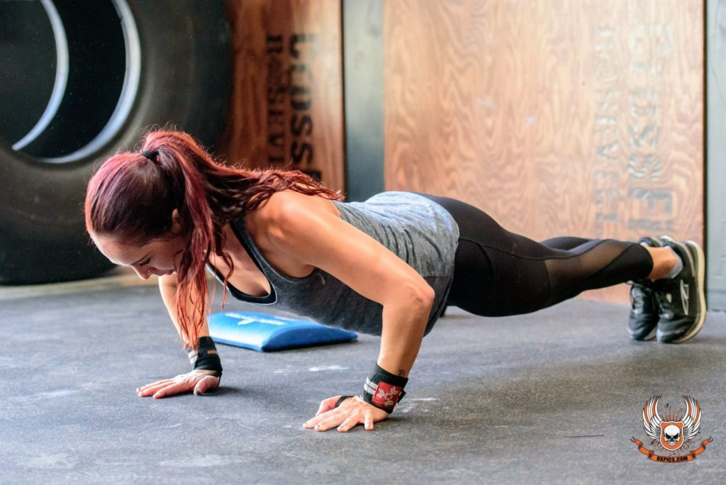 Ashley Fajardo at CrossFit Roseville