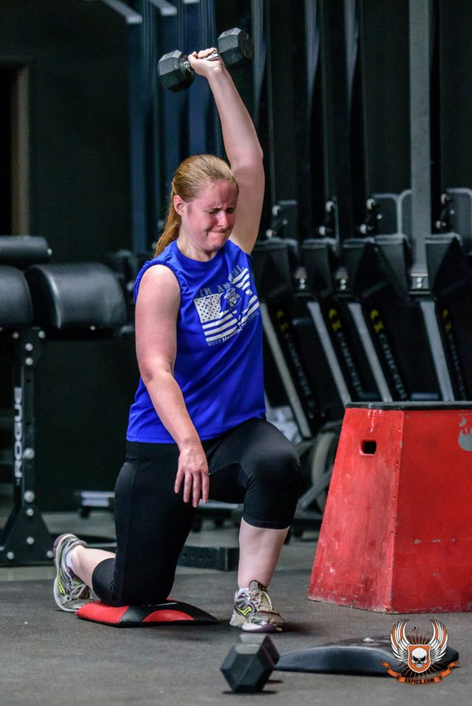 Cristyn Creese at CrossFit Roseville