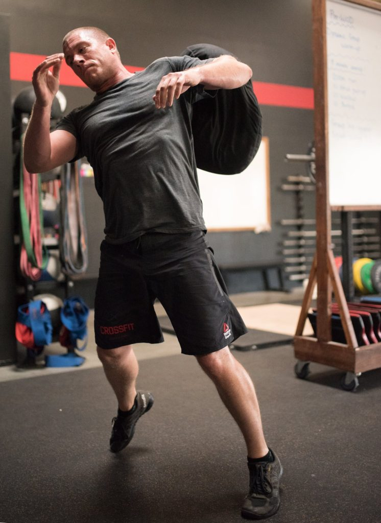 Justin Lawrence at CrossFit Roseville