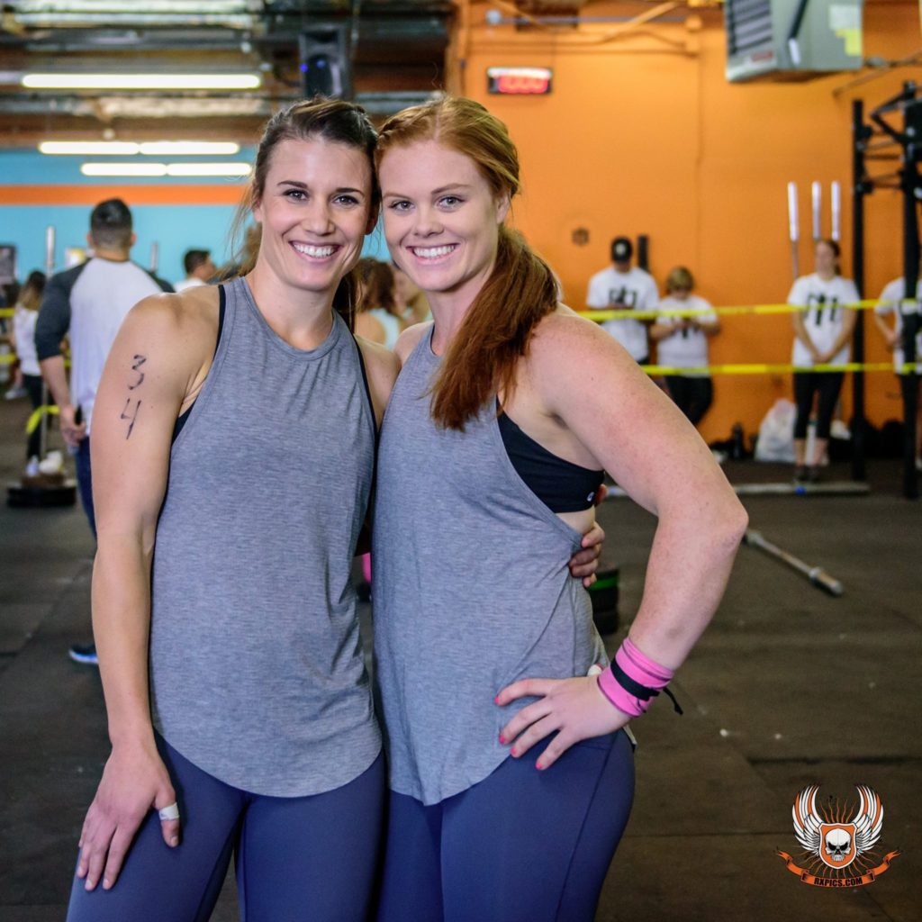 Ashley Albano & Lauren Coonce at Iron October V.