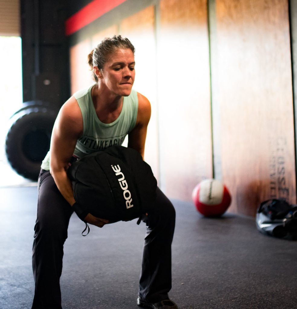 Brandy Rusica at CrossFit Roseville 2017