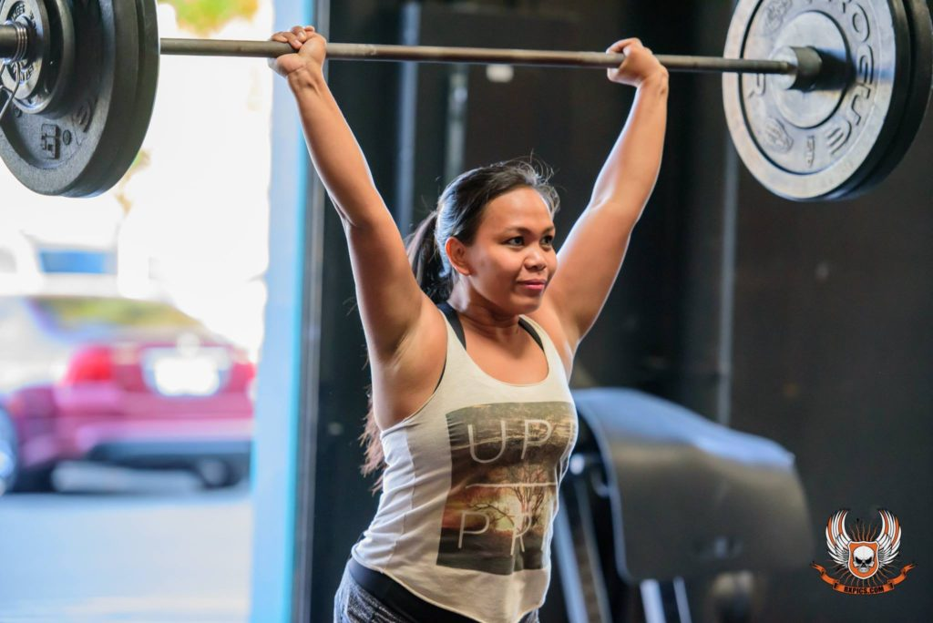 Jhoana Delacruz at CrossFit Roseville