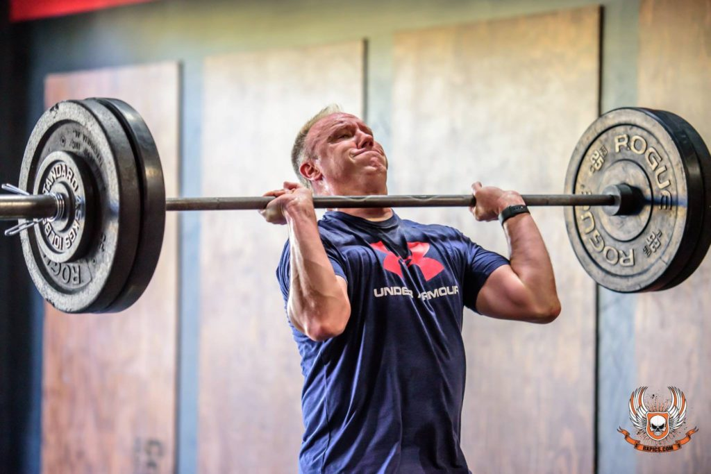 Bill Marsh at CrossFit Roseville