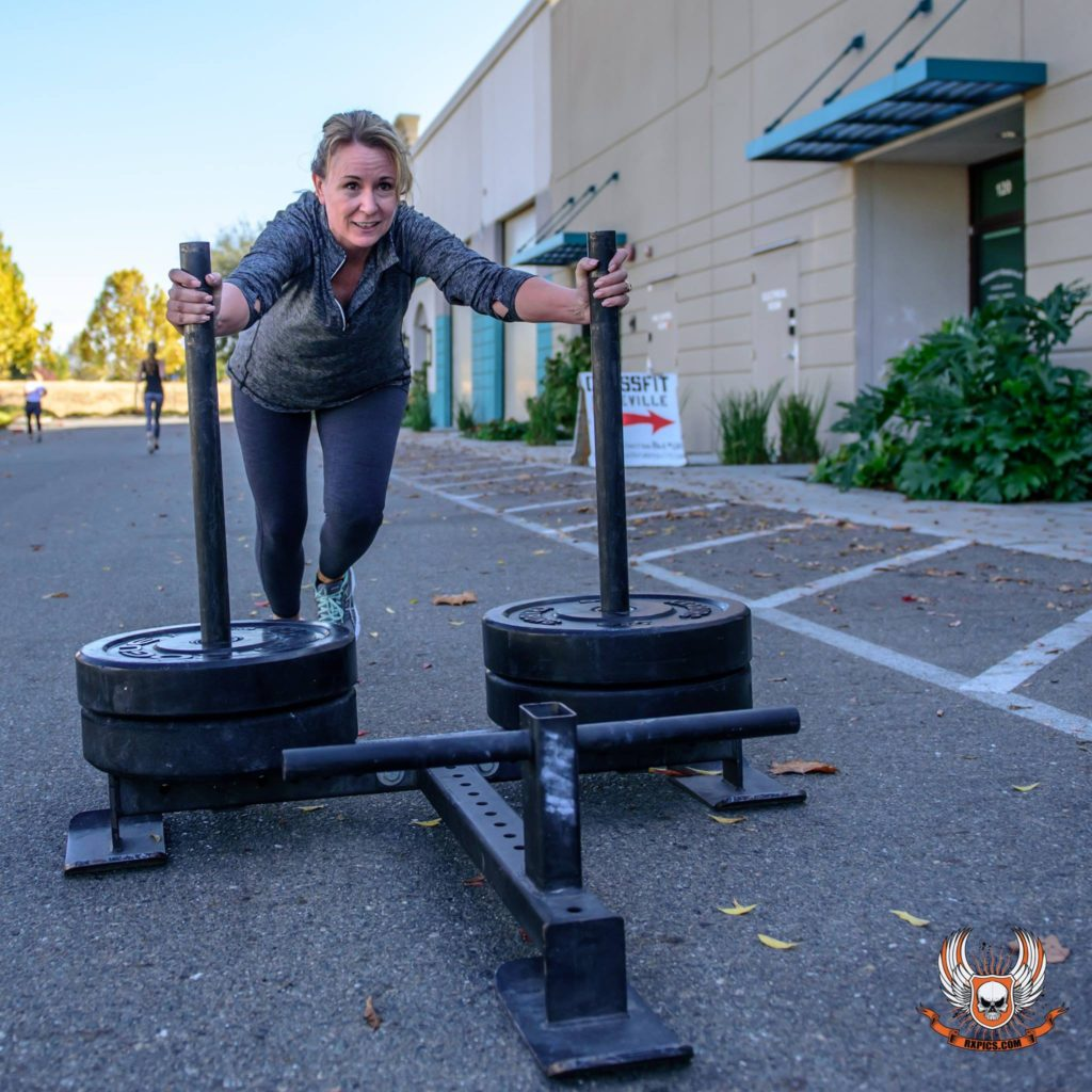 Lori Orr at CrossFit Roseville
