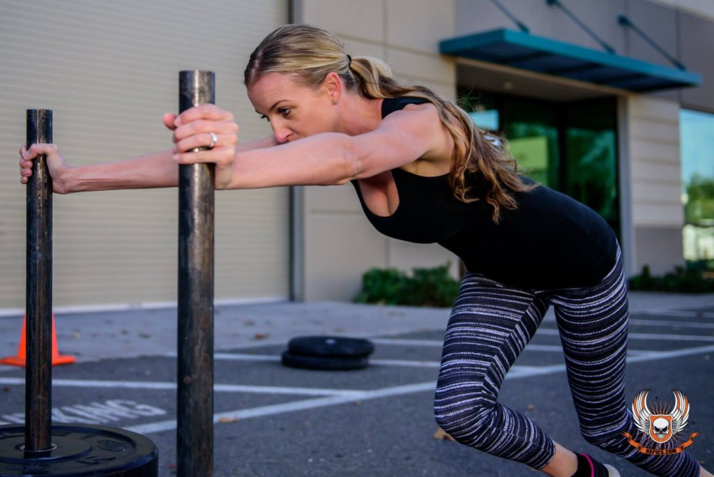 Rachelle Grider at CrossFit Roseville
