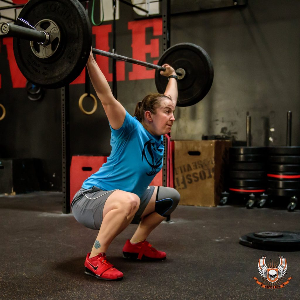 Eileen Marsh at CrossFit Roseville