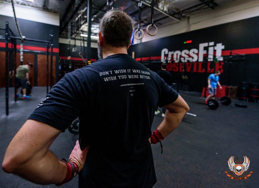 Joey Washburn at CrossFit Roseville
