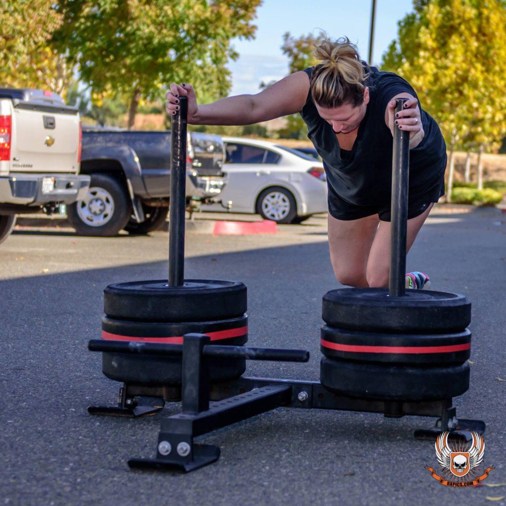 Courtney Stipp at CrossFit Roseville