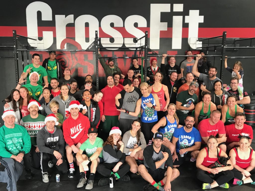 2017 12 Wod's of Christmas at CrossFit Roseville