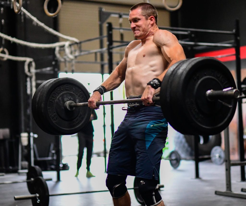 Andrew Niemeyer at CrossFit Roseville