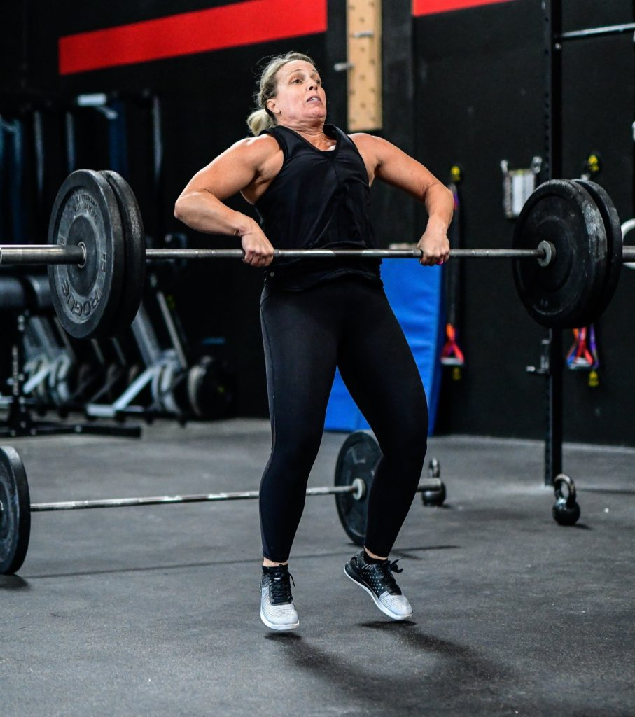 Trish Godtfredsen at CrossFit Roseville