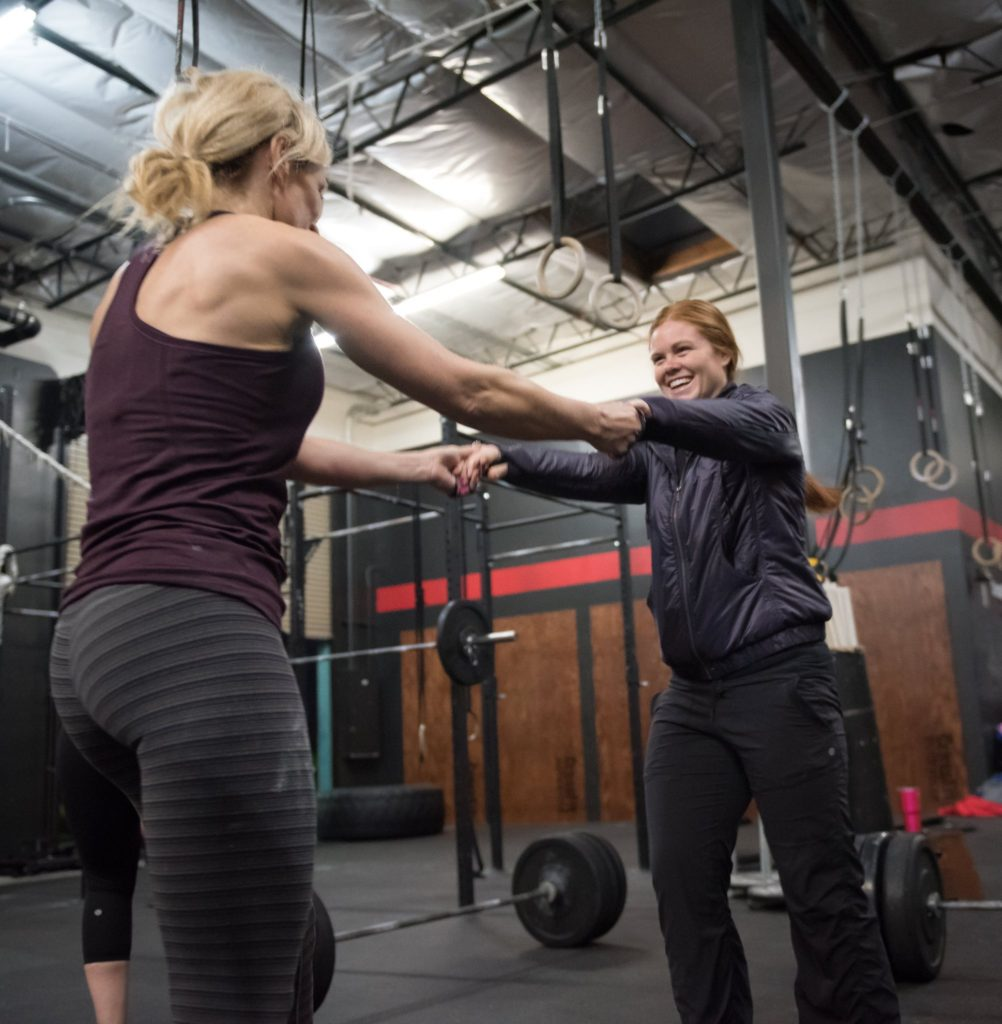 Janet and Lo at CrossFit Roseville