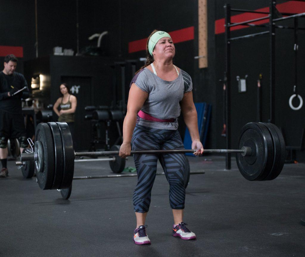 Nadia Recendez at CrossFit Roseville
