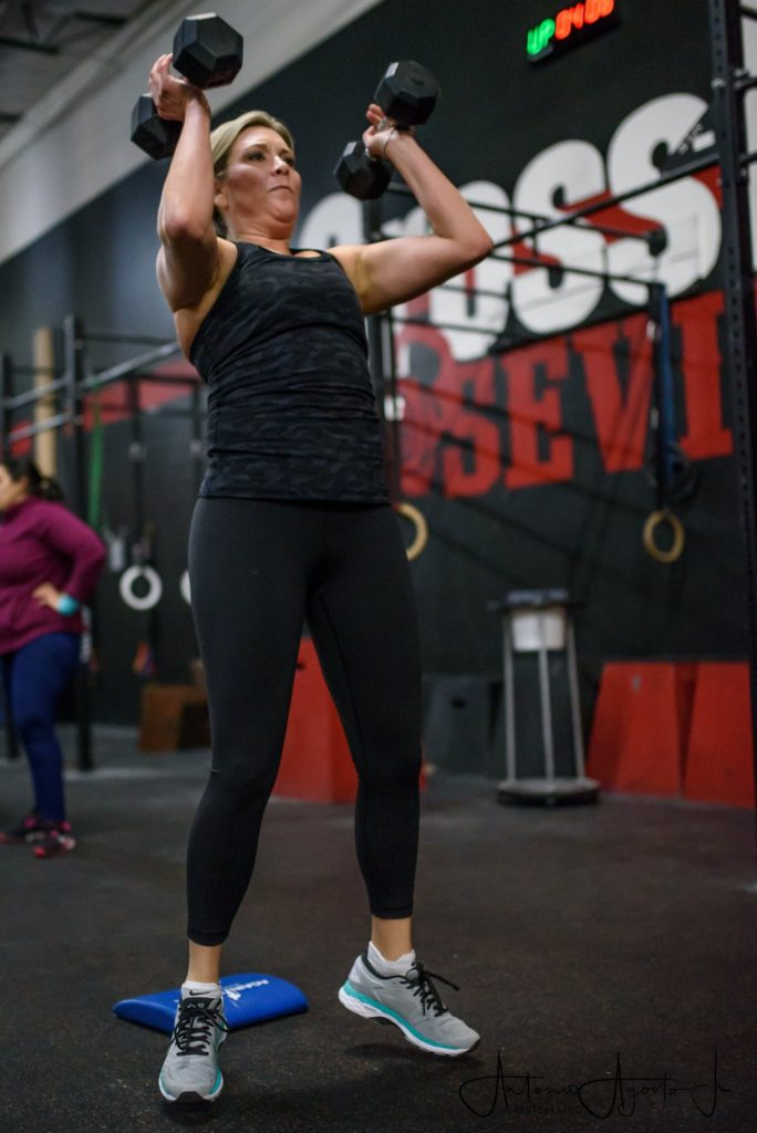 Hillary Iserman at CrossFit Roseville