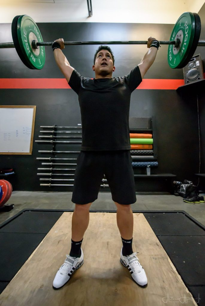 Ray Tadena at CrossFit Roseville